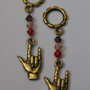 ASL in Goldtone