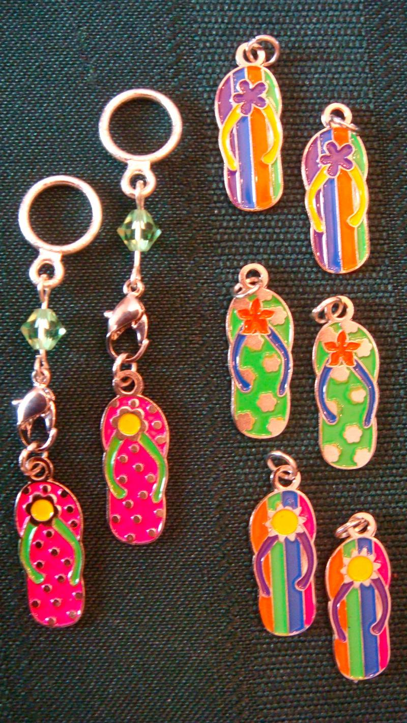Flip-Flop Changeable Charms