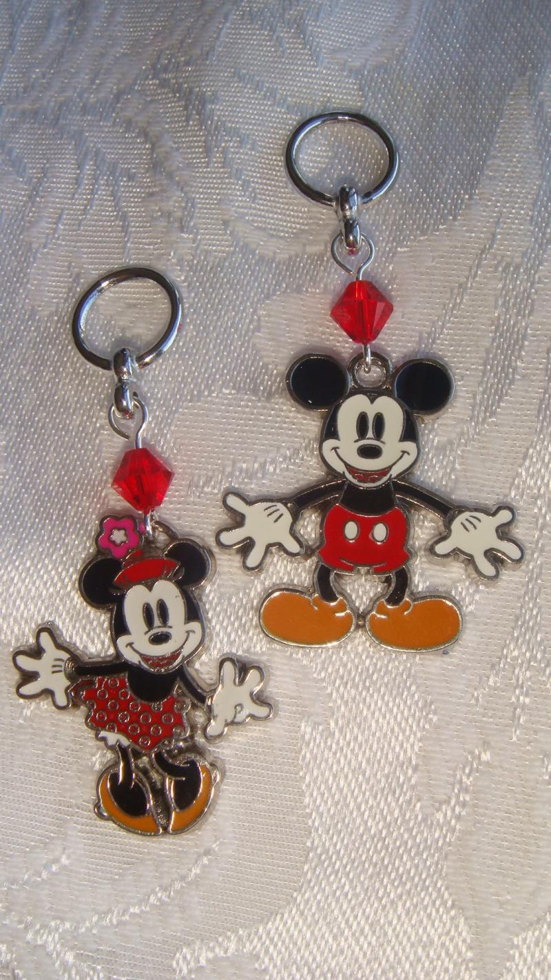 Mickey and Minne Mouse