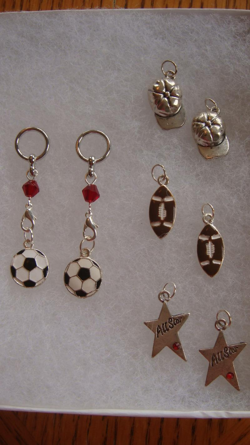 Sports Changeable Charms