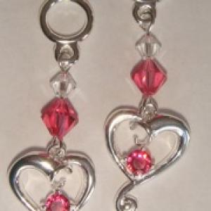 Jeweled Hearts