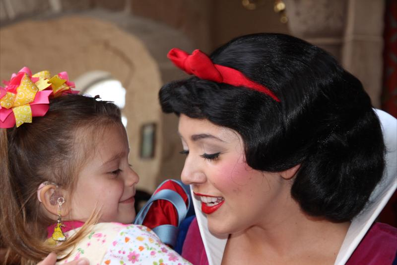 Sophia and Snow White