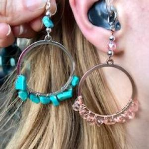 Entwined Hoops